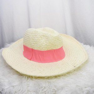 Free Press Accessories Woven Straw Hat OS